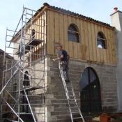 Bouw kloostertoren frankrijk